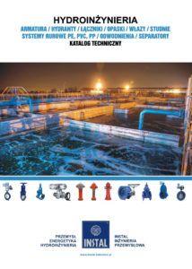 Strona tytułowa katalogu Hydroinżynieria.